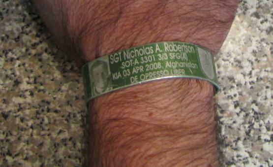 Bracelet to Remember Nick