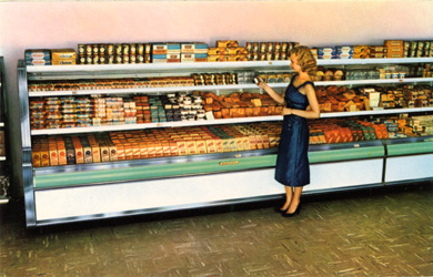 Lady in Supermarket, 1956
