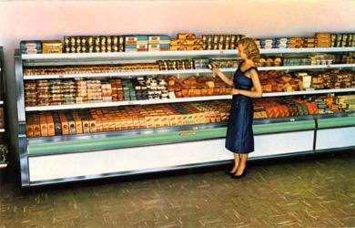 Lady in Supermarket, 1956