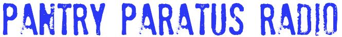 Pantry Paratus Radio Banner