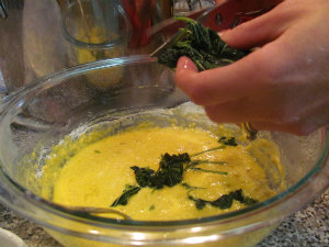 adding Stinging Nettle to pasta