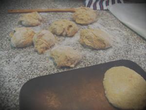 dough in balls