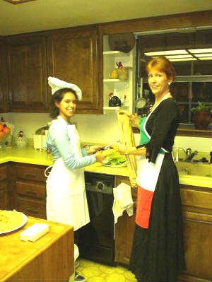"Chef Nancy's ""Kids in the Kitchen"" program"