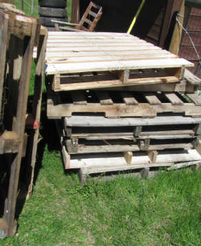 Pallets, free to good home