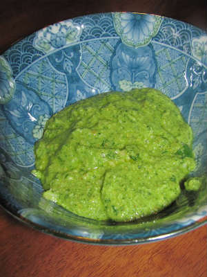 Flax Oil Pesto