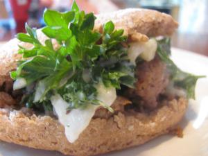Chaya's fake-out doner kebab