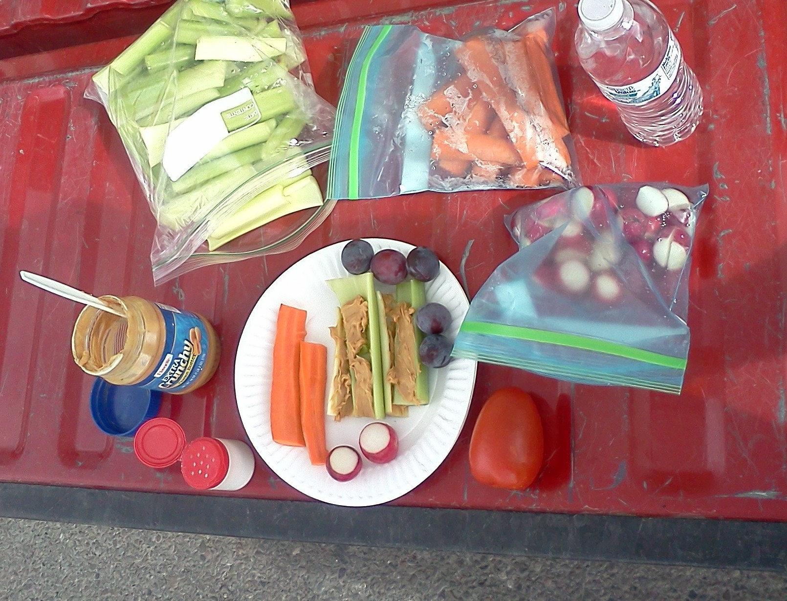 tailgate meal