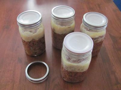 Jars of Properly Canned Beef