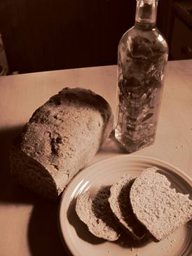 Pantry Paratus bread with infused olive oil