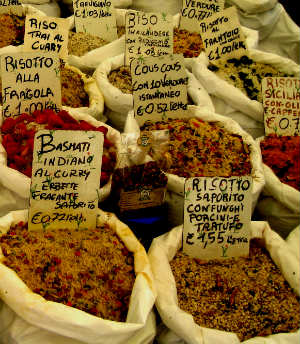 Couscous in the market