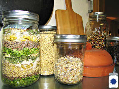 Jars of Soup Mixes Make Easy Meals