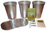 Maple Starter Kit with Aluminum Buckets