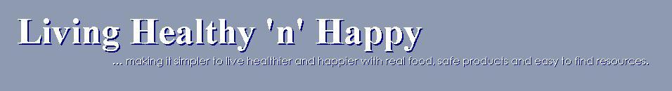 Living HappynHealthy blog