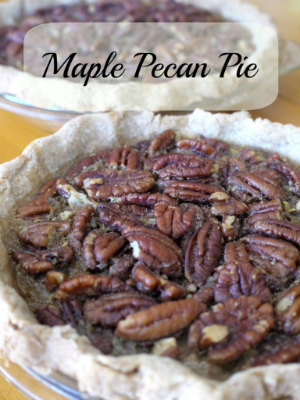 Maple Pecan Pie by Learning&Yearning