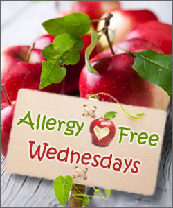 Find this blog on Allergy-Free Wednesday!