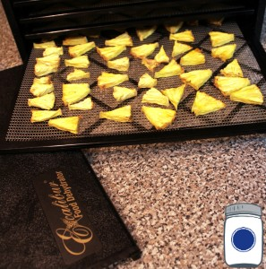 Dehydrated Pineapple 24 hours