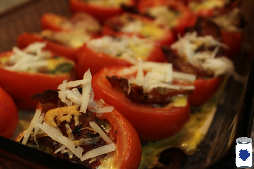 Italian Stuffed Tomatoes with Bacon