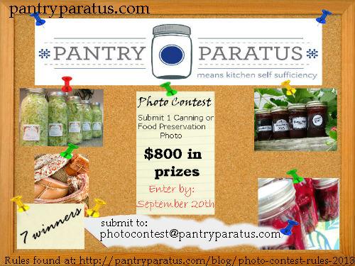 Pantry Paratus Photo Contest