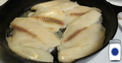 Buttered Fish in white wine