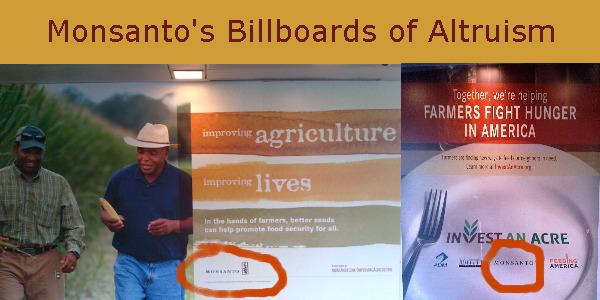 Monsanto's Billboards of Altruism