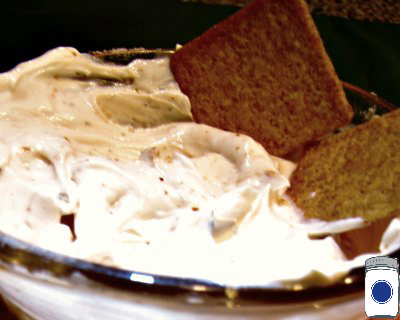 Homemade Dip using Mix-A-Meal recipe