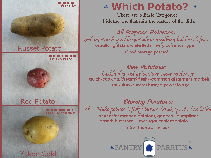 Which Potato is Right for the Job?