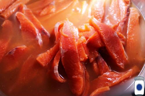 Salmon in Marinade