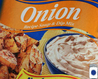 Front Cover of Lipton Onion Soup & Dip Mix