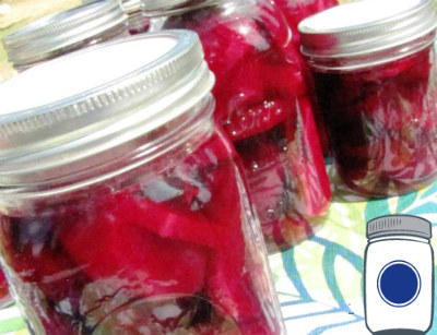 Canned Beets with Tattler Lids