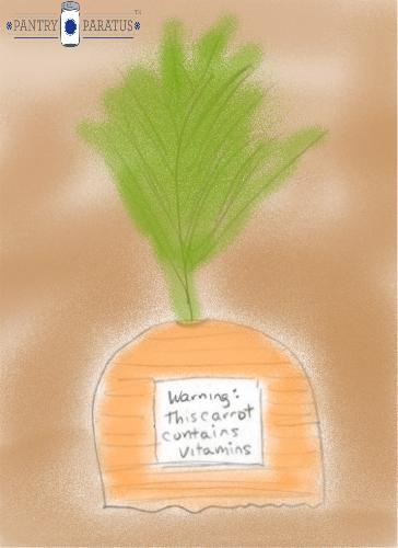 Warning This Carrot