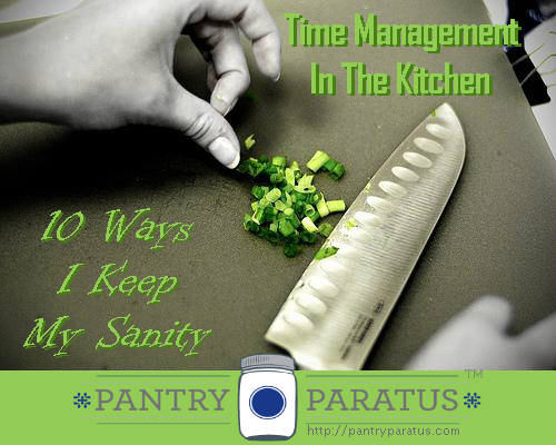 Time Management in the Kitchen