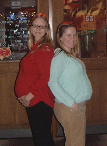 Chaya and Erin