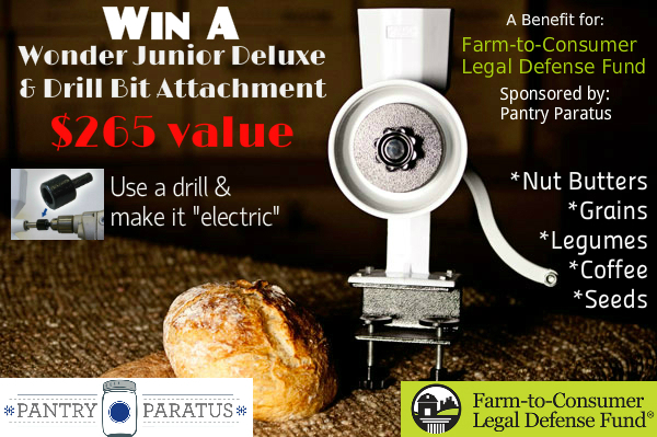 Grain Mill Raffle