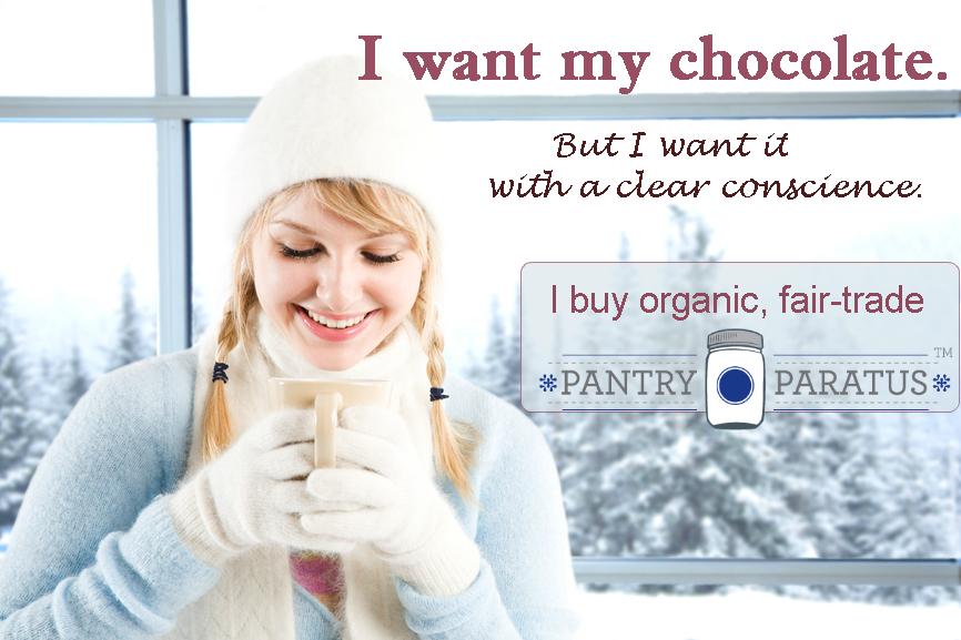 I want chocolate ethically