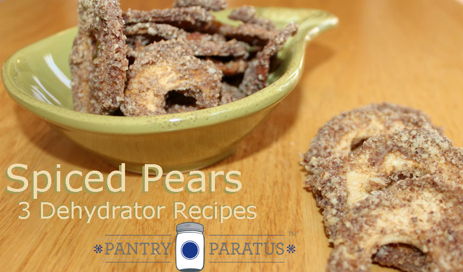 Dehydrated Pears