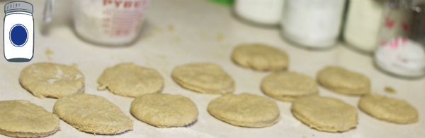 Biscuits cut out