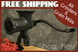 Grain Mills & Grinders Free Shipping