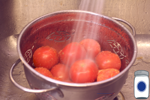 Quick Rinse Tomatoes