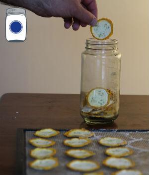Dehydrated Zucchini