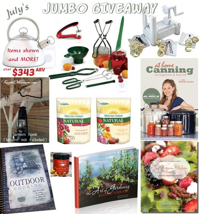 July's Jumbo Giveaway