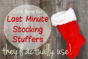 Last Minute Stocking Stuffers