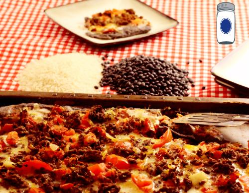 Gluten Free Nacho Pizza