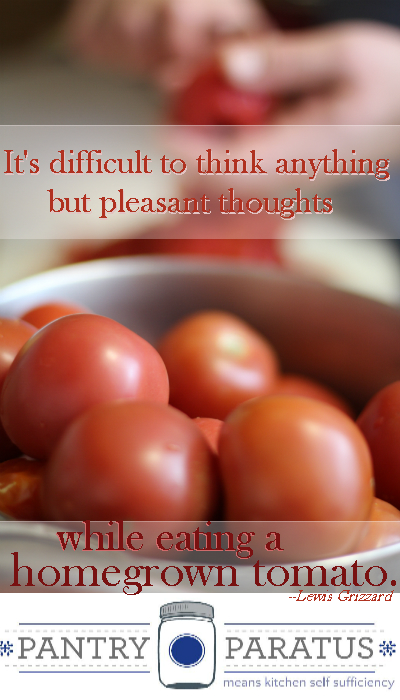 Homegrown Tomato