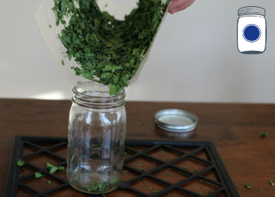 Dehydrated Parsley