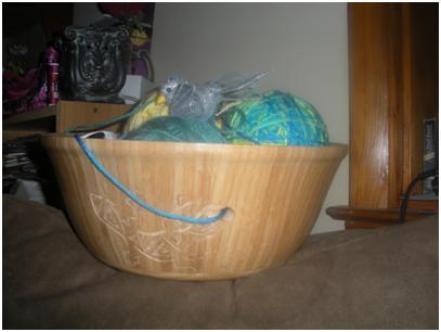 Homemade Wooden Bowl
