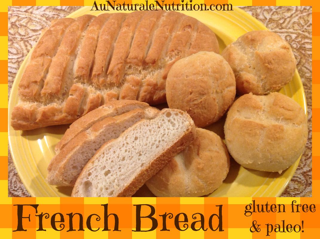 French Bread Gluten-free Paleo