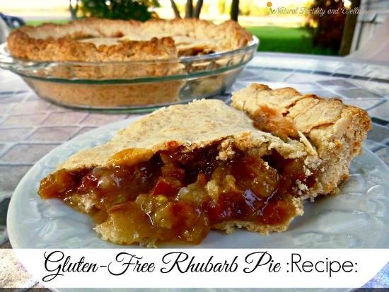 Gluten Free Rhubarb Pie