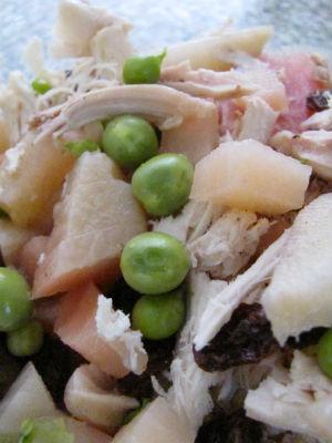 Chicken Salad Mixture before sauce