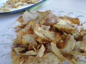 Tater Skin Crispies by Kitchen Stewardship