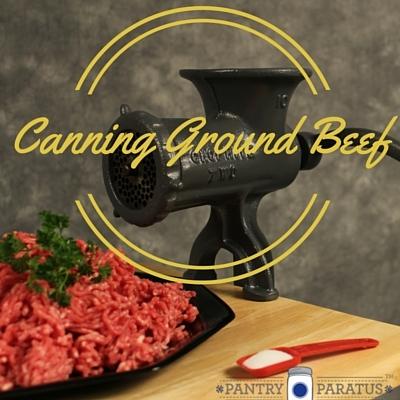 Canning Ground Beef